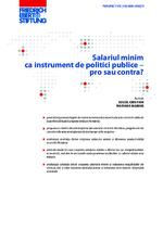 Salariul minim ca instrument de politici publice