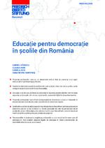 Educaţie pentru democraţie în şcolile din România