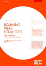 Romania's weak fiscal state
