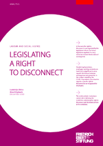 Legislating a right to disconnect