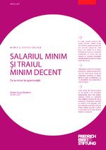 Salariul minim şi traiul minim decent
